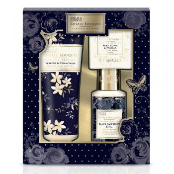 Baylis & Harding Cadeauset Royale Bouquet 3 stuks Zwart