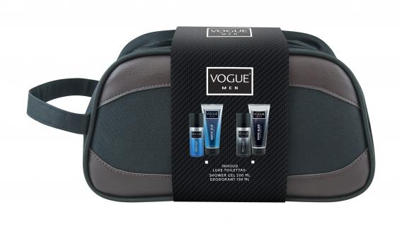 Vogue Cadeauset Men Mystic Black Toilettas