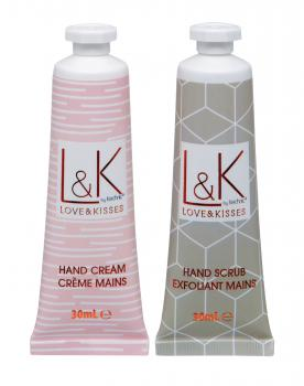 Love & Kisses Cadeauset Hand Treats 2 stuks