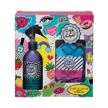 Chit Chat Cadeauset Bath Set Soak & Spray