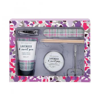 Body Collection Cadeauset Lavender ManicureSet