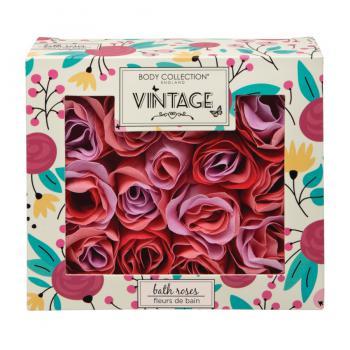 Body Vintage Cadeauset Bath Roses