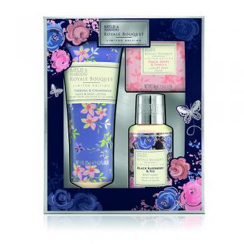 Baylis & Harding Cadeauset Royale Bouquet 3 stuks Blauw