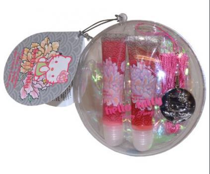 Hello Kitty Cadeauset Lipgloss & Armband