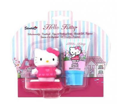 Hello Kitty Cadeauset Douchegel 30ml & Zeep