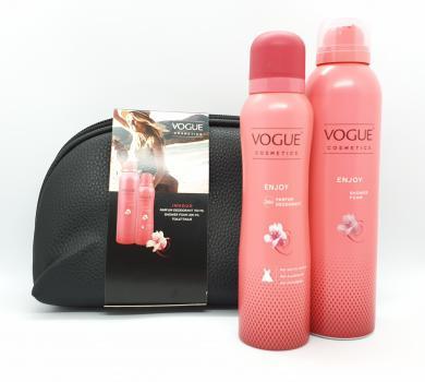 Vogue Cadeauset Enjoy Toilettas Zwart