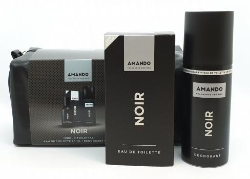 Amando Cadeauset Noir Toilettas