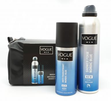 Vogue Cadeauset Men Nordic Blue Toilettas