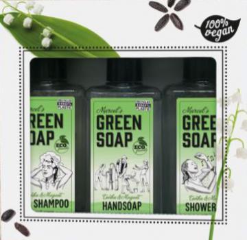 Green Soap Cadeauset Tonka & Muquet