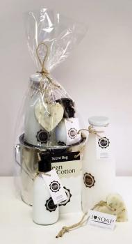 Soap & Gifts Giftset Emmer Clean Cotton