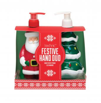 Novelty Cadeauset Christmas Festive Hand Duo