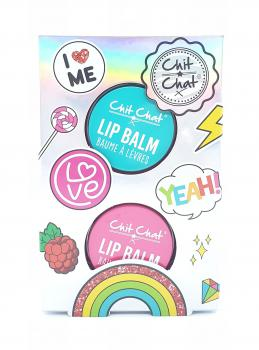 Chit Chat Cadeauset Lip Balm Tin