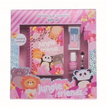 Casuelle Cadeauset Jungle Friends Notebook & Make-Up