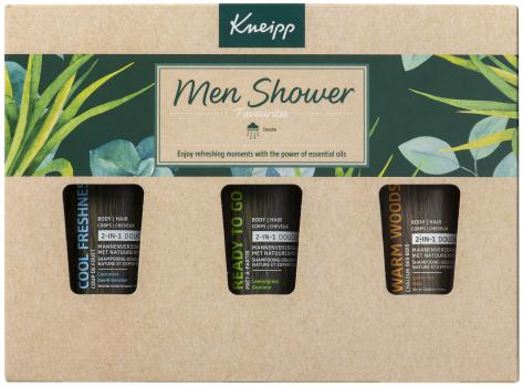 Kneipp Cadeauset For Men Douche 3 x 75 ml