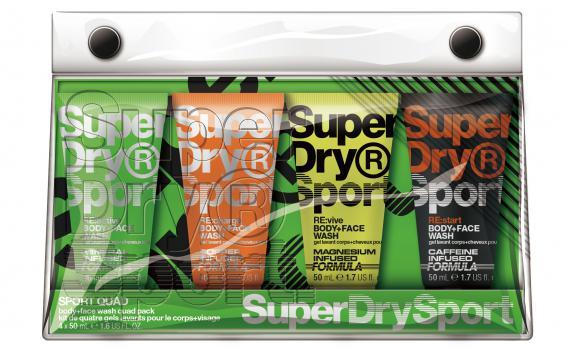 Superdry Sport Cadeauset Sport Quad