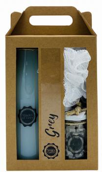 Soap&Gifts Cadeauset XL Grey