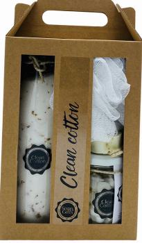 Soap&Gifts Cadeauset XL Clean Cotton
