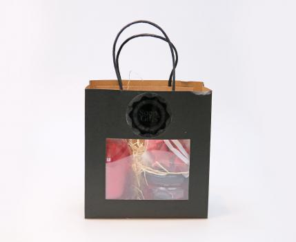 Soap & Gifts Cadeauset Tas Red Cinnamon