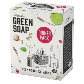 Green Soap Dinner Pack 6 producten