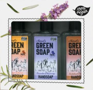 Green Soap Cadeauset Handsoap Mix