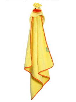 Zoocchini Baby Badcape | Eend Puddles the Duck