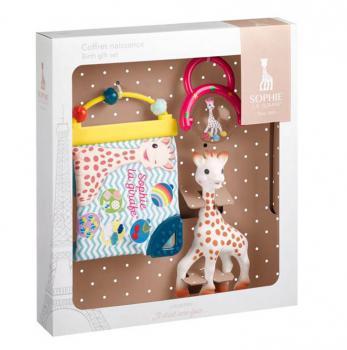 Sophie de Giraf Cadeauset Rammelaar   Boek   Sophie de Giraf bijt