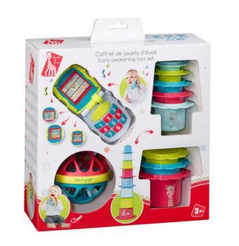 Sophie de Giraf Cadeauset Speelgoedset
