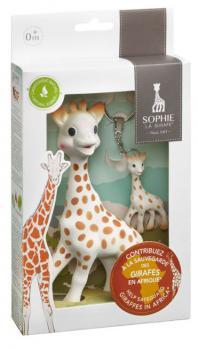 Sophie de Giraf Cadeauset Sophie de Giraf & Sleutelhanger