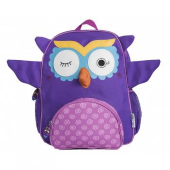 Zoocchini Rugtas Olive the Owl | Uil Paars