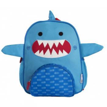 Zoocchini Rugtas Sherman the Shark   Haai Blauw